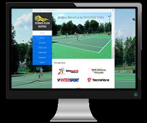 tennis-club-matha-france-website-portfoilio